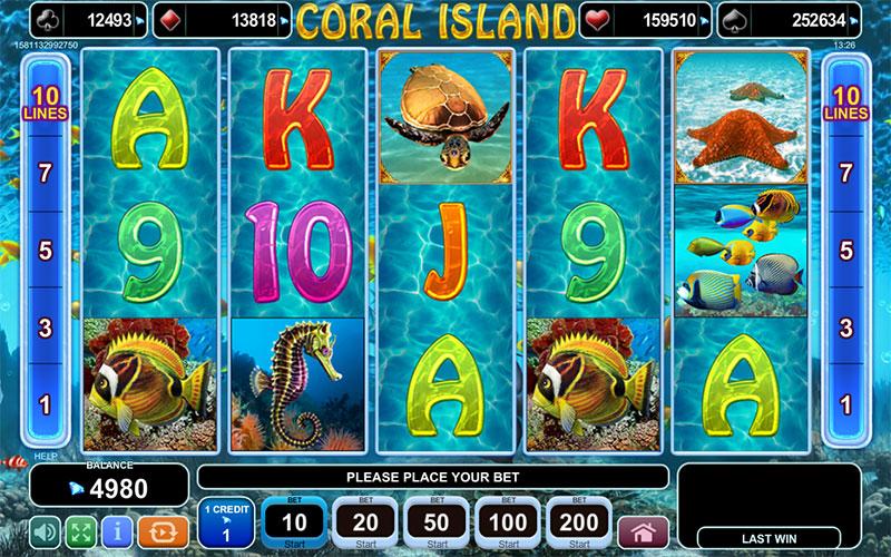 Coral Island Slot Machine